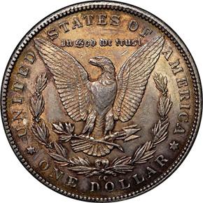 1889 CC S$1 MS reverse