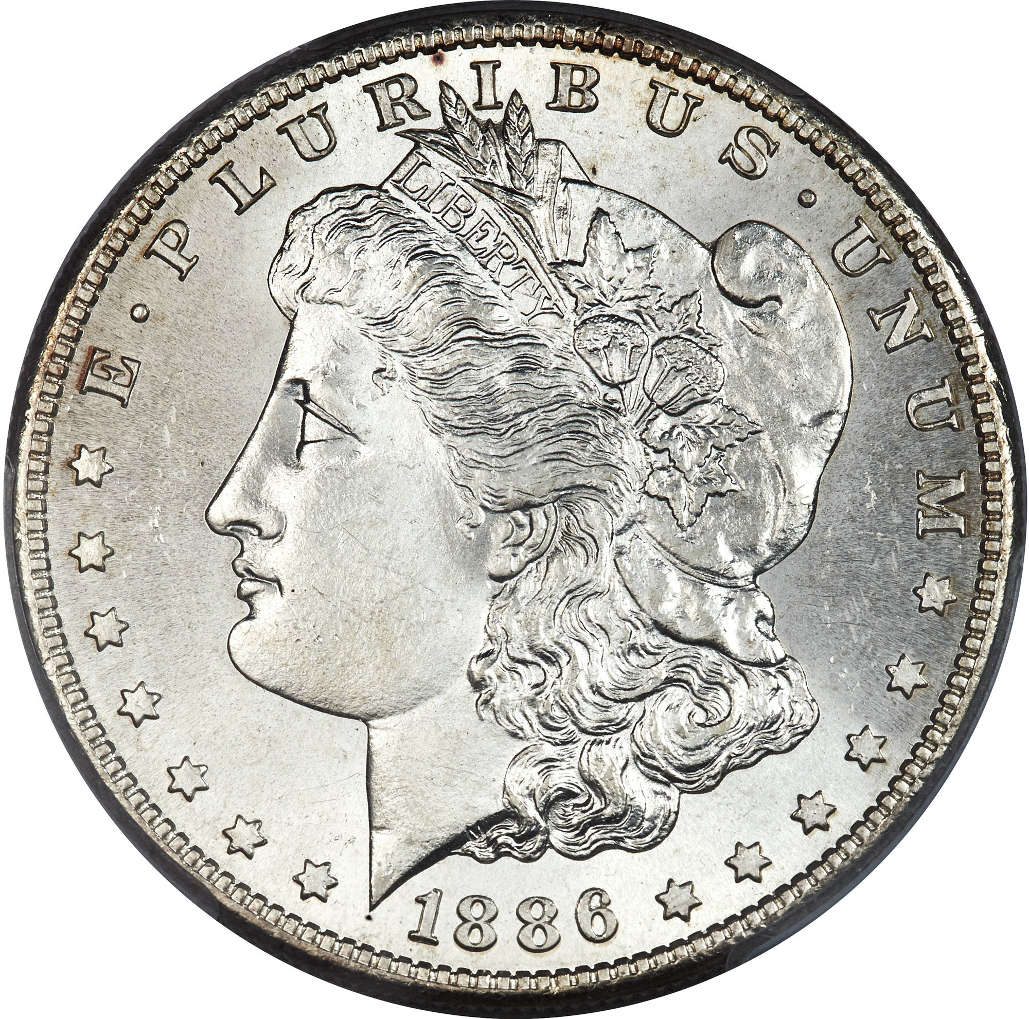 SKU #26653 1886-S Morgan Dollar AU