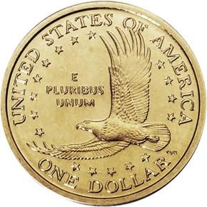2000 P GOODACRE PRESENTATION $1 SP reverse
