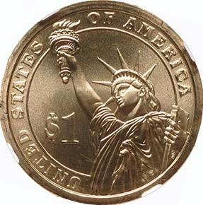 2008 P ANDREW JACKSON $1 MS reverse