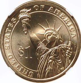 2007 P JAMES MADISON $1 MS reverse