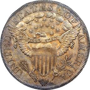 1799/8 $1 MS reverse