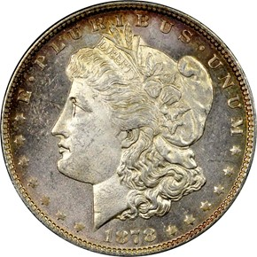 1878 7/8TF STRONG S$1 MS obverse