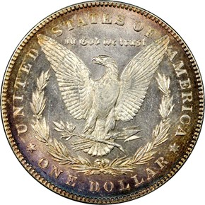 1878 7/8TF STRONG $1 MS reverse