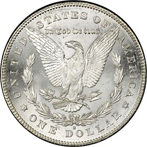 1879 S REV OF 78 TOP-100 S$1 MS reverse