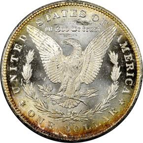 1882 CC S$1 MS reverse