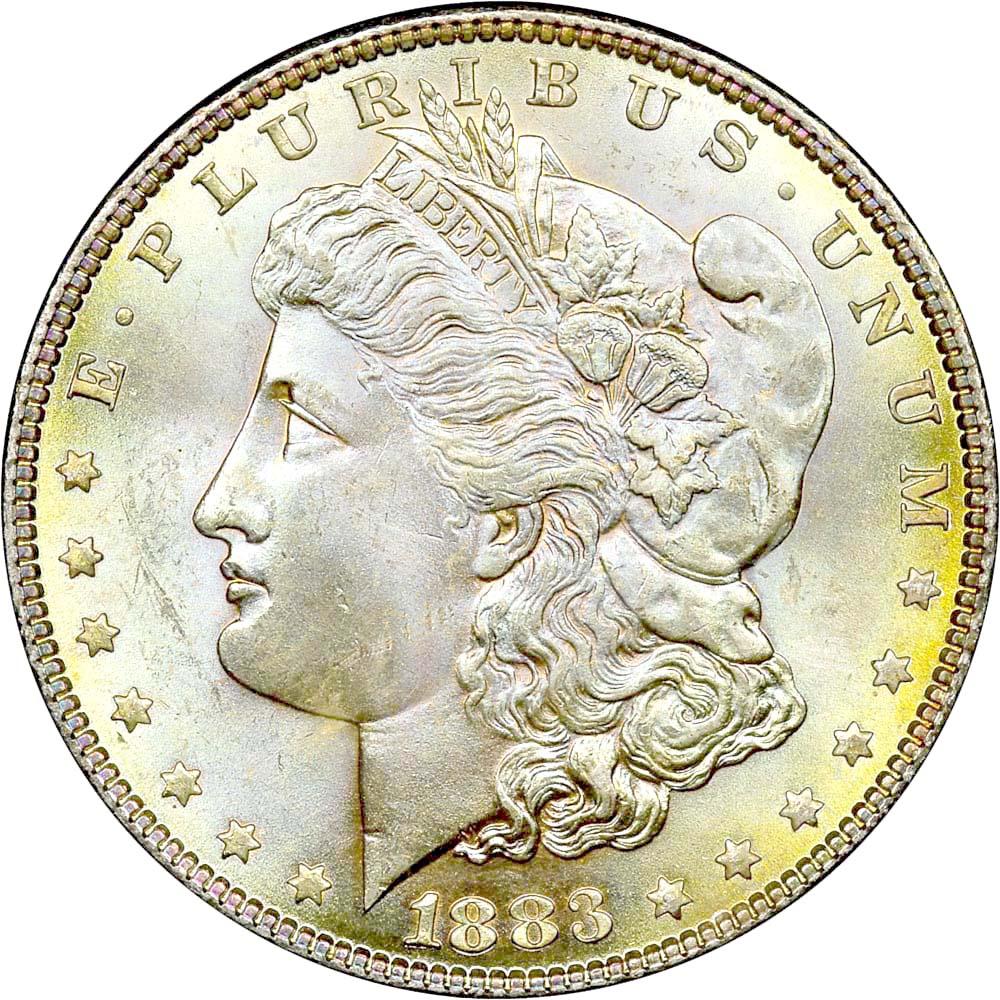 1883 1 Ms Morgan Dollars Ngc