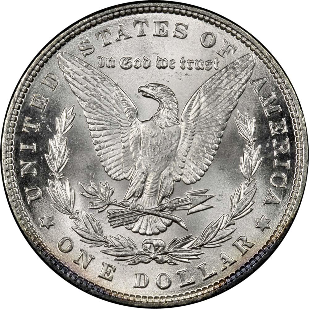 1886 1 Ms Morgan Dollars Ngc