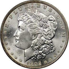 1902 $1 MS obverse