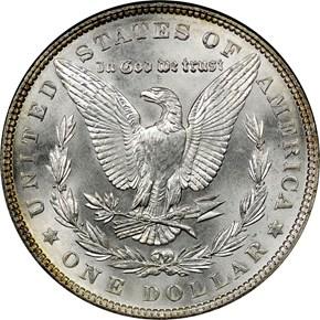 1902 $1 MS reverse