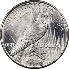 1926 D $1 MS reverse