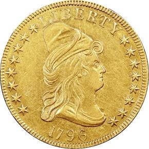 1796 BD-1 $10 MS obverse