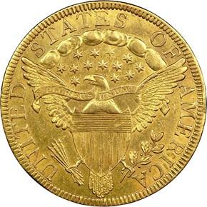 1798/7 STARS 9X4 BD-1 $10 MS reverse