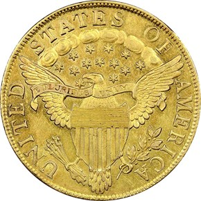 1799 SMALL STARS OBV $10 MS reverse