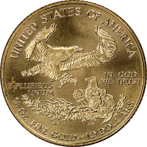 1998 EAGLE G$10 MS reverse
