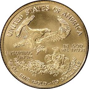 2000 EAGLE G$10 MS reverse