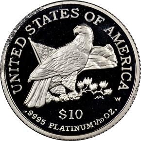 2003 W EAGLE P$10 PF reverse
