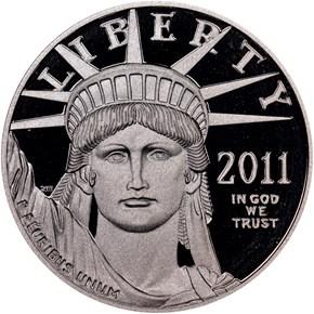 2011 W EAGLE P$100 PF obverse