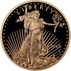 2015 W EAGLE G$10 PF obverse