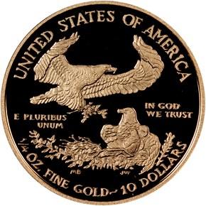 2015 W EAGLE G$10 PF reverse
