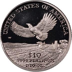 2000 W EAGLE P$10 PF reverse