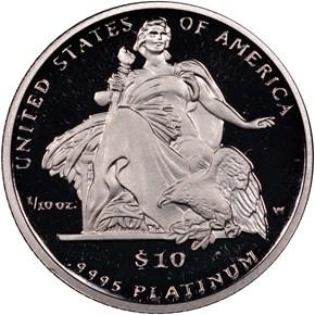 2004 W EAGLE P$10 PF reverse
