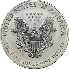 2006 P REVERSE PF EAGLE 20TH ANNIVERSARY S$1 PF reverse