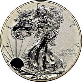2012 S EAGLE REVERSE PF SAN FRANCISCO EAGLE SET S$1 PF obverse