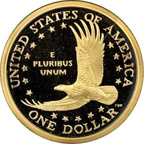 2004 S $1 PF reverse