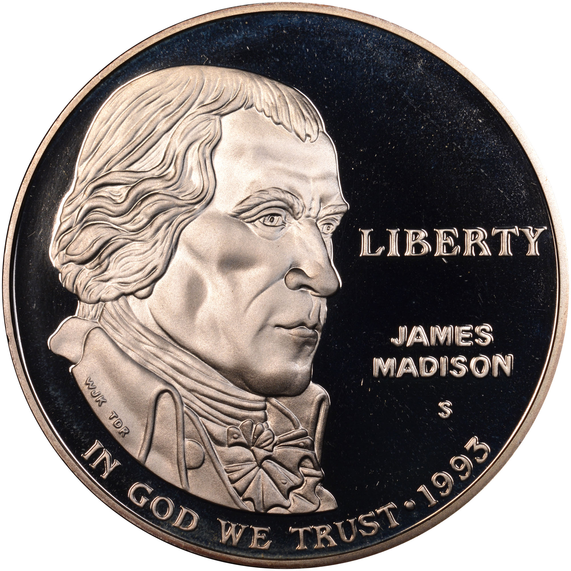 1993 bill of rights coin