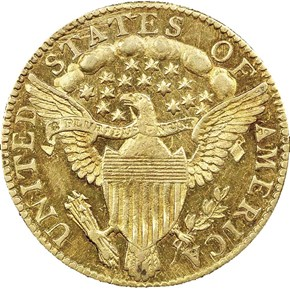 1796 STARS BD-3 $2.5 MS reverse