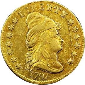 1797 BD-1 $2.5 MS obverse