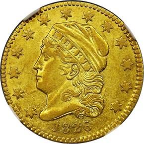 1826/6 BD-1 $2.5 MS obverse