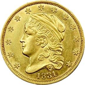 1831 BD-1 $2.5 MS obverse