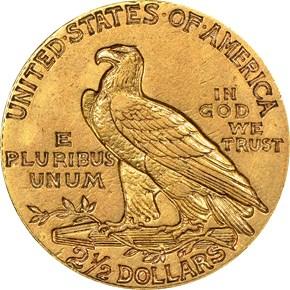 1911 D WEAK D $2.5 MS reverse