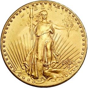 1930 S $20 MS obverse