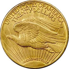 1909/8 $20 MS reverse