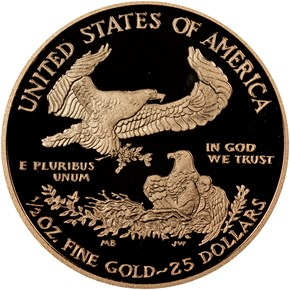 2015 W EAGLE G$25 PF reverse