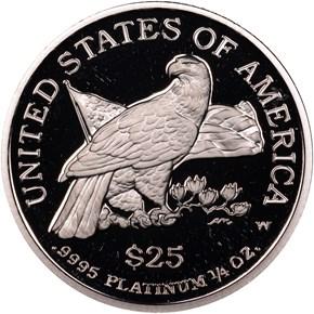 2003 W EAGLE P$25 PF reverse