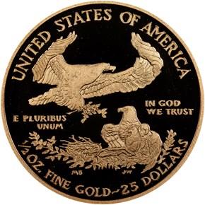 2012 W EAGLE G$25 PF reverse