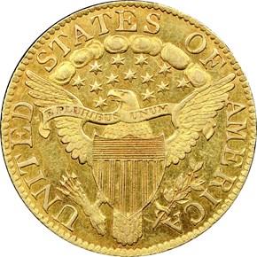 1802/1 $5 MS reverse