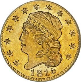 1815 BD-1 $5 MS obverse
