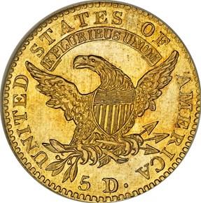 1815 BD-1 $5 MS reverse