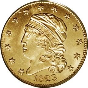 1823 BD-1 $5 MS obverse