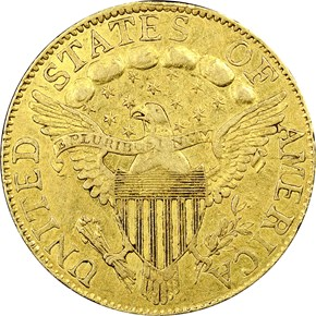 1799 $5 MS reverse
