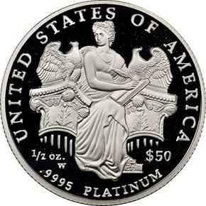 2006 W EAGLE P$50 PF reverse
