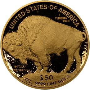 2011 W BUFFALO .9999 FINE G$50 PF reverse