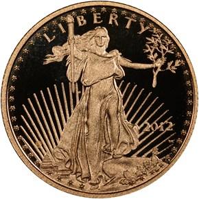 2012 W EAGLE G$5 PF obverse