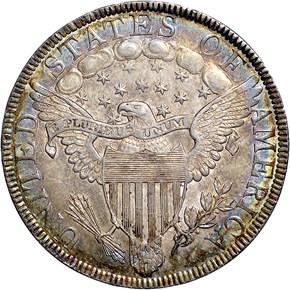 1801 50C MS reverse