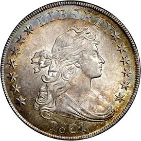1801 S$1 MS obverse